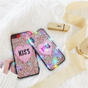 Just Like Friday Accessories - Kiss Me Rainbow iPhone 7plus/8plus XS/X Case